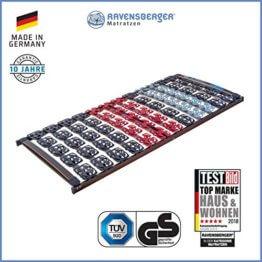 Ravensberger Matratzen Meditec Lattenrost 5-Zonen-TPEE-Teller-Systemrahmen